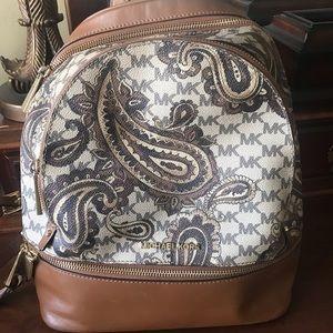 Michael Kors Paisley Backpack